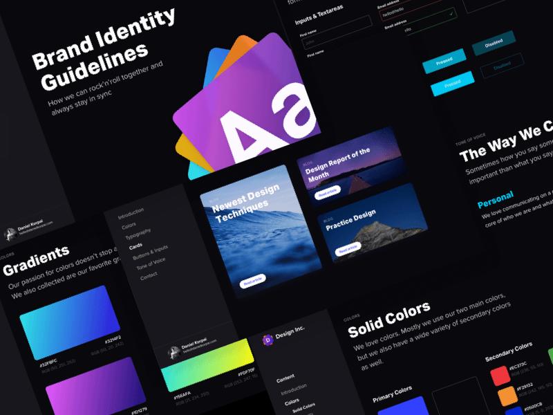 merancang identitas untuk perusahaan